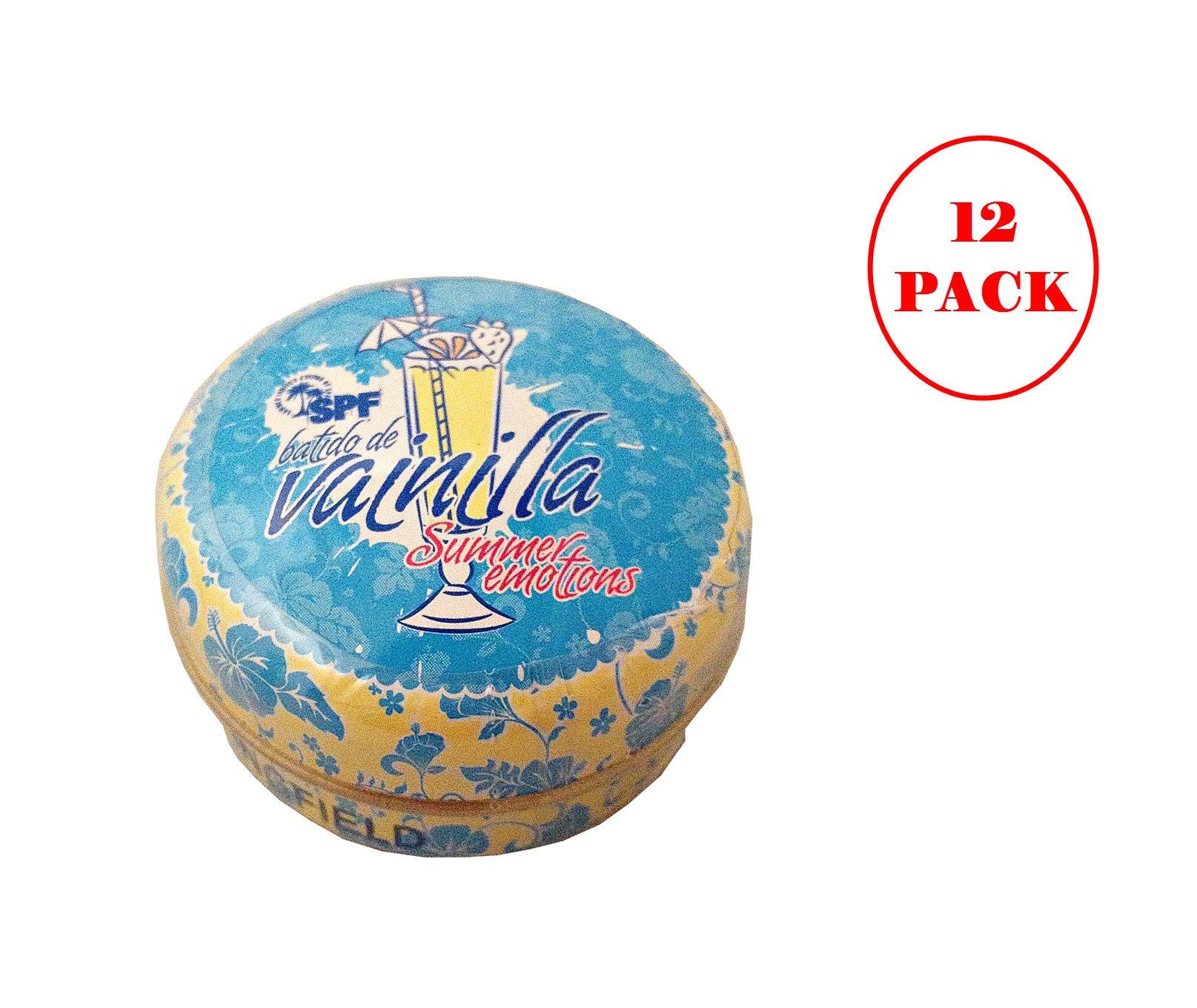 Springfield Batido De Vainilla/Vanilla Milkshake Lip Balm 15ml. Pack of 12