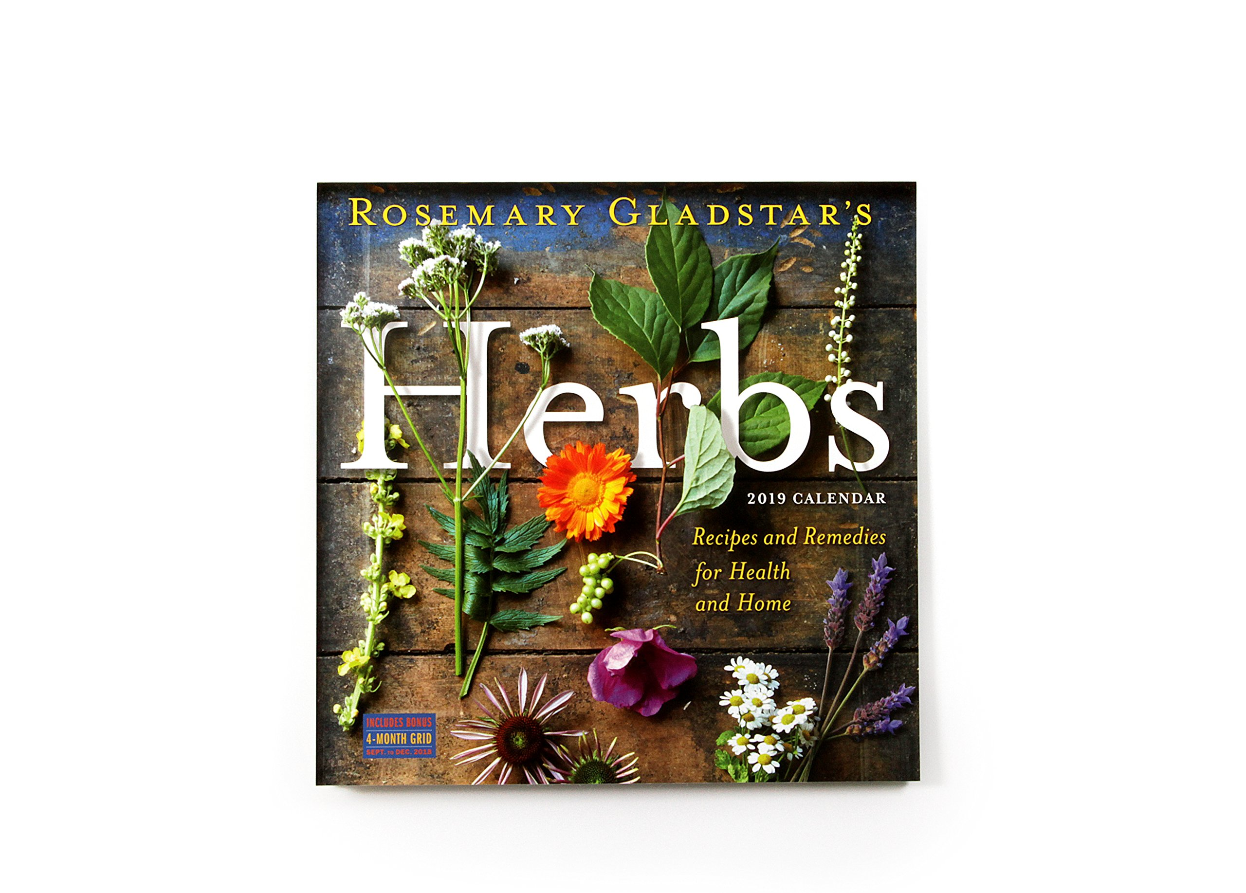 Rosemary Gladstar's Herbs Wall Calendar 2019: Rosemary Gladstar:  9781523504664: Amazon.com: Books