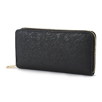 5e5c07bc26ac [LUXER39] 長財布 ラウンドファスナー シンプル ウォレット カード入れ 小銭入れ 多機能 6