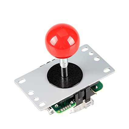 12v Led Arcade Joystick With 5pin Cable 8 Way Operation For Arcade Game Diy Entertainment Coin Operated Games
