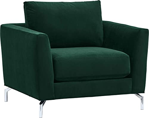 Amazon Brand Rivet Emerly Modern Living Room Chair, 41 W, Emerald