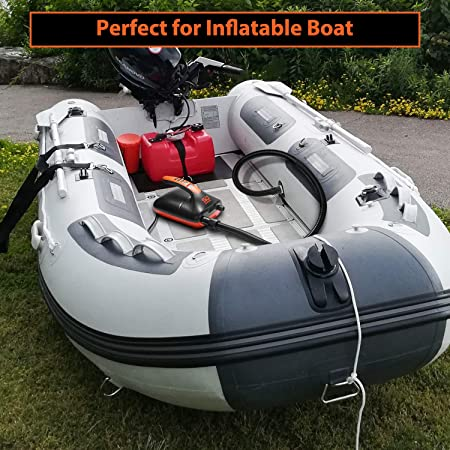 Water Sports Float Great for Inflatable Stand Up Paddle Boards Kayaks Swonder 20 PSI Digital Electric Air Pump- Intelligent Dual Stage /& Auto-Off Function Tent