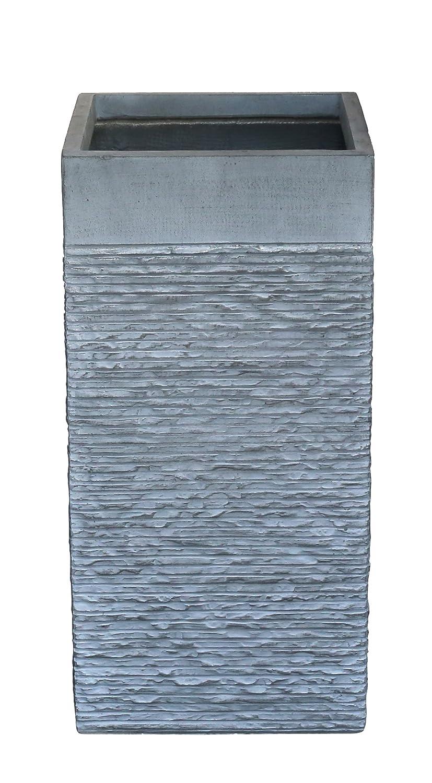AmaCasa fioriera vaso per piante Fioriera cemento design rettangolare grigio antracite