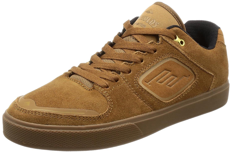 Emerica Herren Skateschuh Reynolds G6 Skateschuhe  41|brown/gum