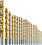 Bosch TI21A Titanium-Coated Metal Drill Bit Set (21 Piece)