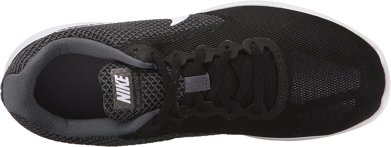 Nike Damen Revolution 3 Laufschuhe, grau, UK Grau Dark Grey White Black
