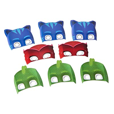 PJ Masks Paper Masks (8 ct): Toys & Games