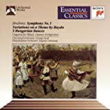 Brahms: Symphony No. 1 / Variations on a Theme