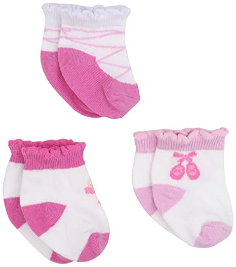Amazon Com Jefferies Socks Baby Girls Infant Ballerina Socks Pink