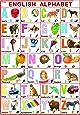 English Alphabet Chart for Kids (70 x 100 cm)