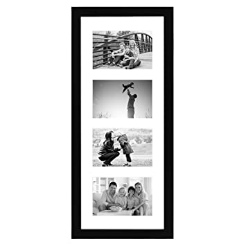 Amazon.com - Black Collage Picture Frame with 4 Openings - Made for ...