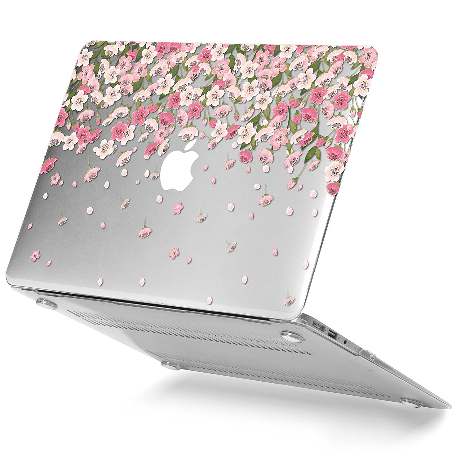 best sneakers 1287b 259e4 Details about GMYLE Plastic Floral Pattern Hard Case for MacBook Air 13  Inch (Model: A1369...