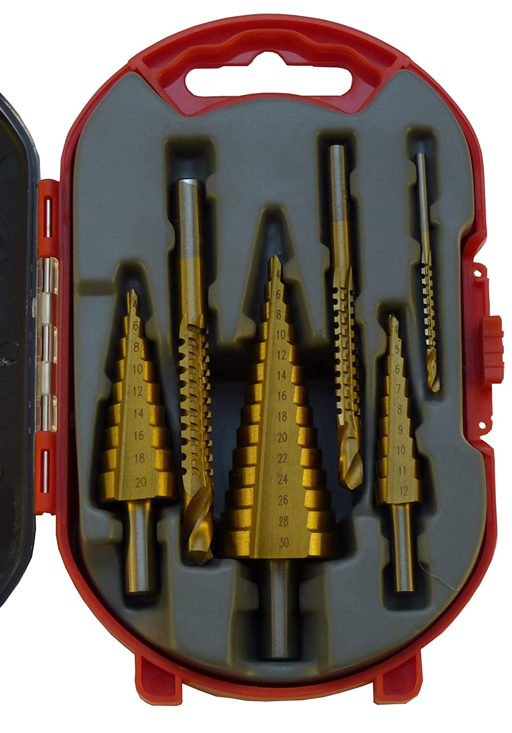 All4Car WT-405 Weber-tools Steps Drill, 4 mm - 30 mm All 4 Car Bv