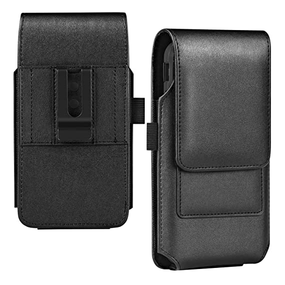 newest collection ab58f 41513 BECPLT Galaxy Note 9 Holster Case, Galaxy S9 Plus Belt Clip Case, Leather  Belt Holster Pouch Case with Card Holder for Samsung Galaxy S10 Plus/Galaxy  ...