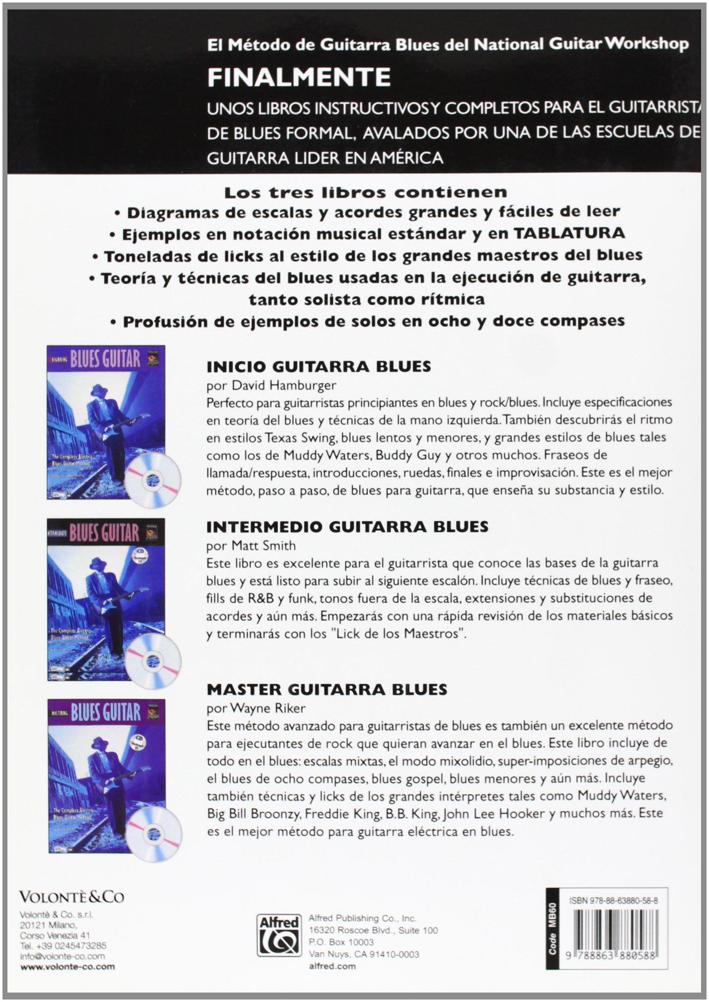 GUITARRA BLUES INTERM+CD SPA (Complete Method): Amazon.es: Smith ...