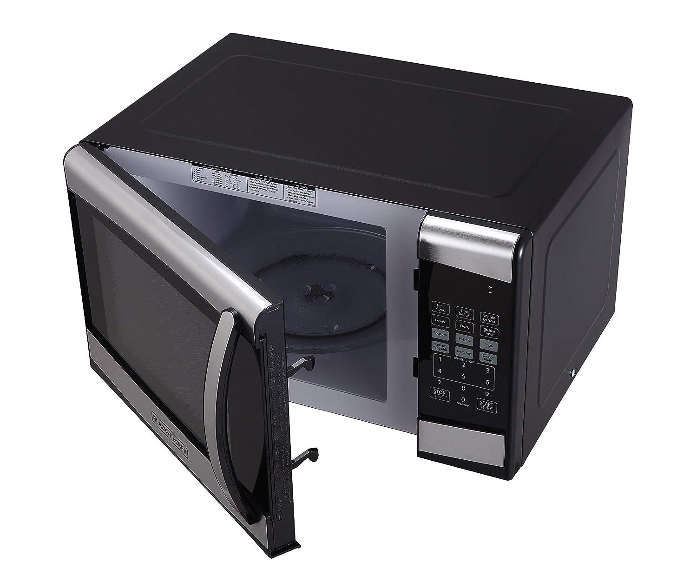 Amazon.com: BLACK+DECKER EM925AZE-P 0.9 Cubic Foot 900 Watt ...