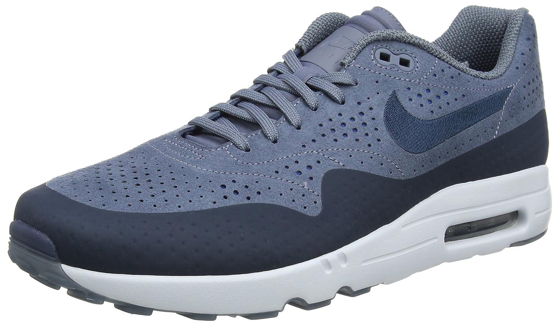 Nike Herren Air Max 1 Ultra 2.0 Moire Sneaker  44 EU|Grau (Bleuarsenal/Bleugeai/Teintebleue/Marinearsenal)