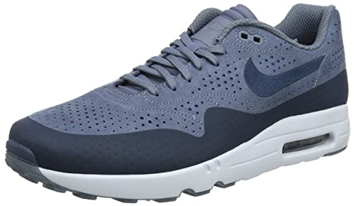 new concept f6480 152d4 Nike Mens Air Max 1 Ultra 2.0 Moire Trainers, Blue (Armory BlueArmory