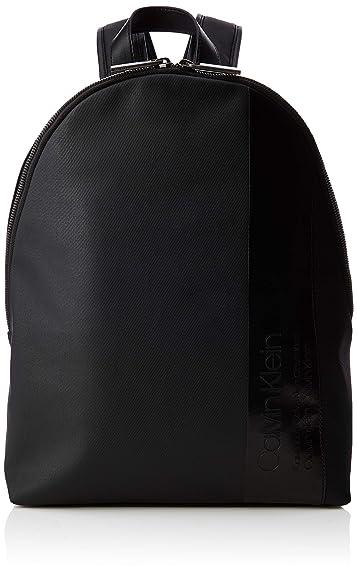 2299975c2 Calvin Klein Elevated Mix Round Backpack, Men's Black, 14x45x30 cm (B x H T