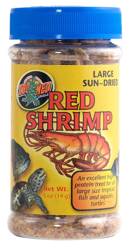 Zoo Med Sun Dried Jumbo Red Shrimp, 14.18gm ZM160
