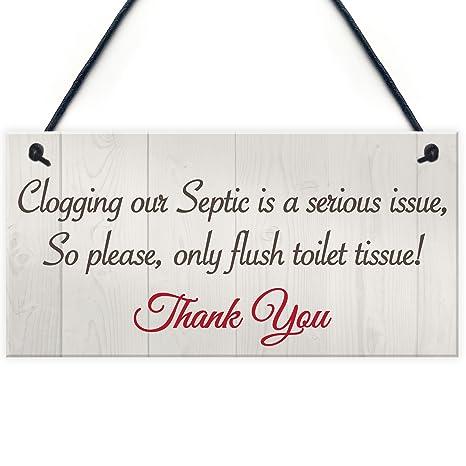 Amazon.com: Sólo Flush pañuelos para el baño placa tanque ...
