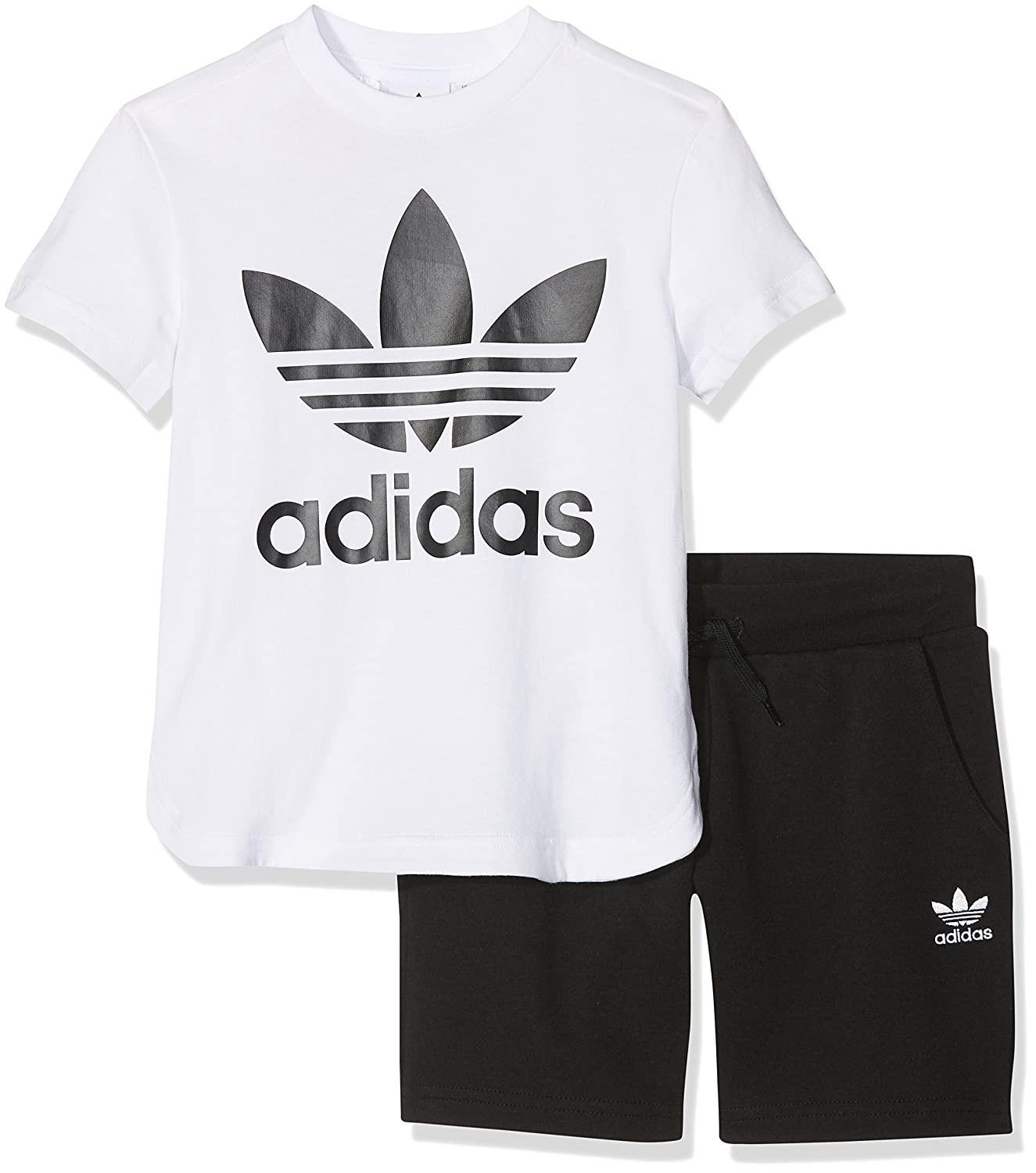 adidas cf8513 Tracksuit Child, Children's, CF8513, white/black, FR : Children's ADIFO|#adidas