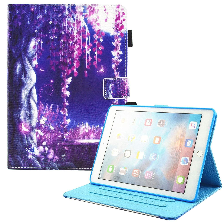 Dteck(TM) Funda para iPad Mini 1/2/3 - Funda Adorable para Niños Mujeres con Función de Auto Reposo/Activación, Ranuras, Soporte Integrado para Apple iPad Mini 1/2/3 7.9 Pulgadas, Elefante Mini-DK-0605