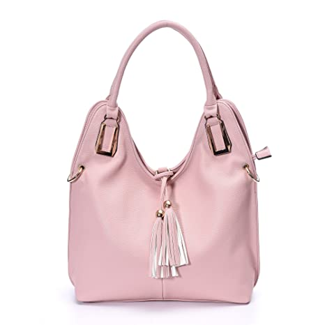 bfddf01bc8c2 Buy Shoulder Handbags Women Cross Body Leather Totes Hobo Bag Top Handle  Stylish Satchel for iPad by soye Online at Low Prices in India - Amazon.in