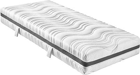 Sleepling 7 Zonen Tonnentaschenfederkern Matratze Comfort 130 Tfk Mit Kaltschaumauflage Und Klimaband Hartegrad 3 90 X 200 X 18 Cm Weiss Amazon De Kuche Haushalt