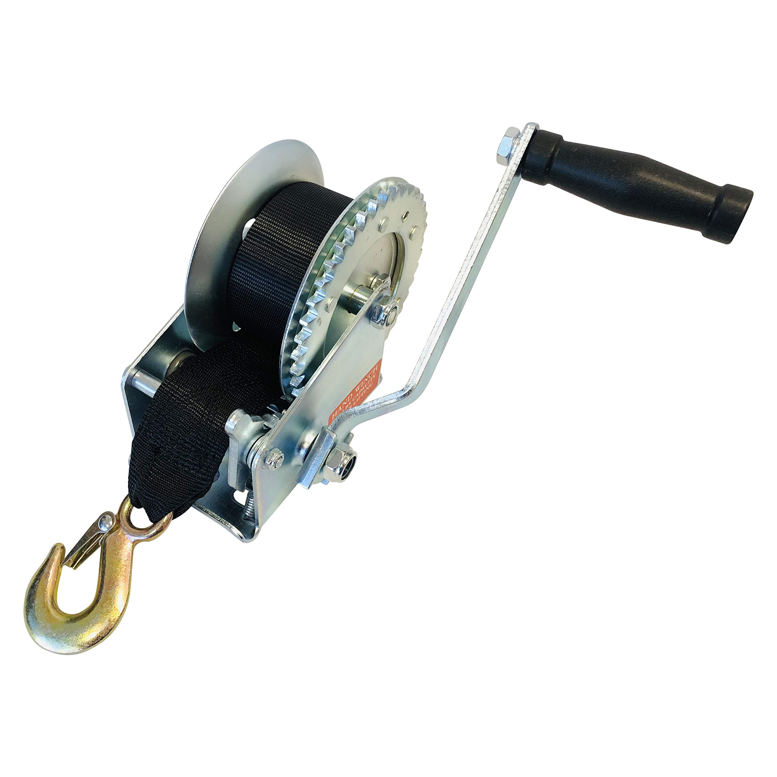 Professional EZ Travel Collection Jet Ski and Boat Trailer Hand Crank Winch (1200 LBS Rated) by Professional EZ Travel Collection