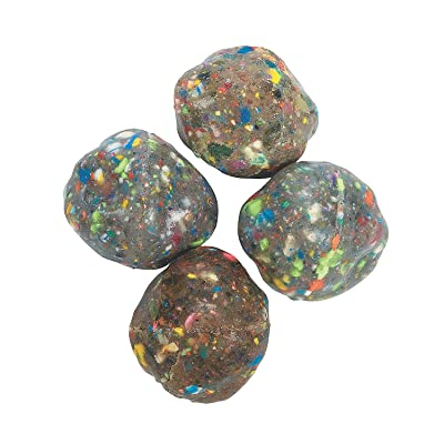 "Fun Express Small Rock Bouncing Balls (1 Dozen) (1.5"") Toys, Balls, Bouncing Balls, Party Favors: Toys & Games"