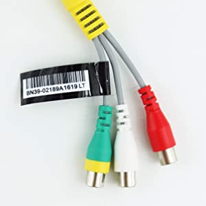 Samsung Gender Cable DC To RCA Cable BN39-02189A