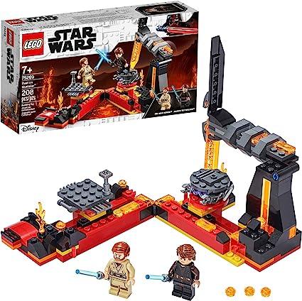 Amazon Com Lego Star Wars Revenge Of The Sith Duel On Mustafar 75269 Anakin Skywalker Vs Obi Wan Kenobi Building Kit New 2020 208 Pieces Toys Games