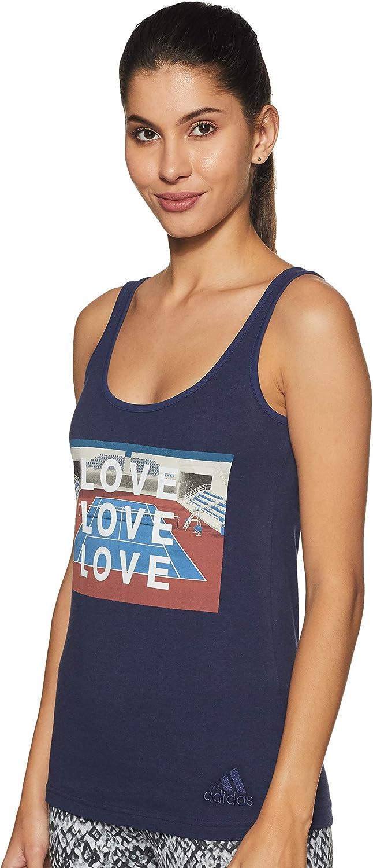 adidas NY Graphic Camiseta de Tenis Mujer