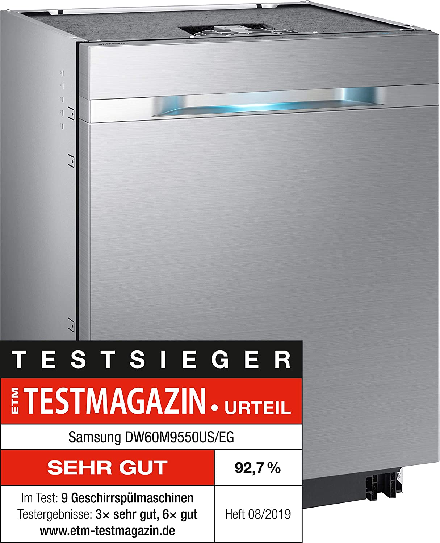 Samsung DW60M9550US/EG lavavajilla Totalmente integrado A+++ ...