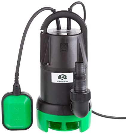 Ultranatura Aguas residuales SP-100, 350 W, Bomba de Motor Sumergible con Interruptor