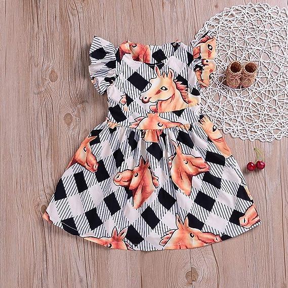 Flyish Baby Spielanzug Kleinkinder Sommer Outfit M/ädchen Schmetterling /Ärmel Kleidung Sets Overall Outfit