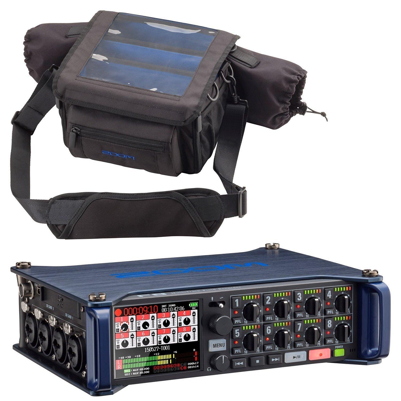 Zoom F8 MultiTrack Field Recorder & Custom Protective Case - Bundle