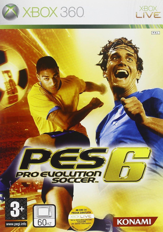 Konami Pro Evolution Soccer 6, Xbox 360 - Juego (Xbox 360, Xbox ...