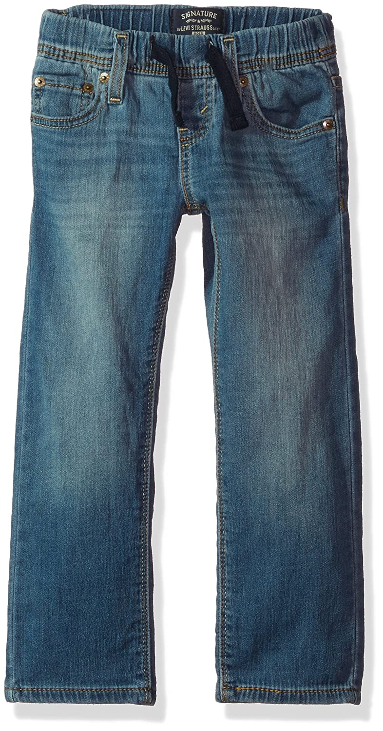 Signature by Levi Strauss & Co. Gold Label Big Little Boys' Athletic Recess Fit Jeans