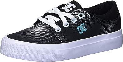 DC Boys Trase TX SE Skate Shoe Dark Denim 4.5 M M US Big Kid