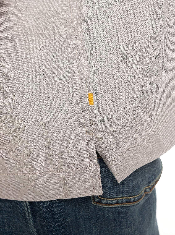 Quiksilver Waterman Mens Kelpies Bay Button Down Shirt Flint Gray XL