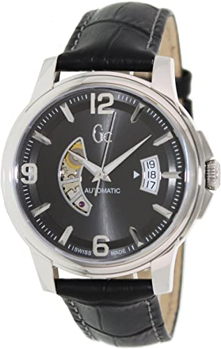 Reloj Guess Collection Gc Classica Automatic X84003g5s Hombre Gris: Guess Collection: Amazon.es: Relojes