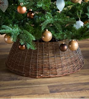 large willow christmas tree ring collar
