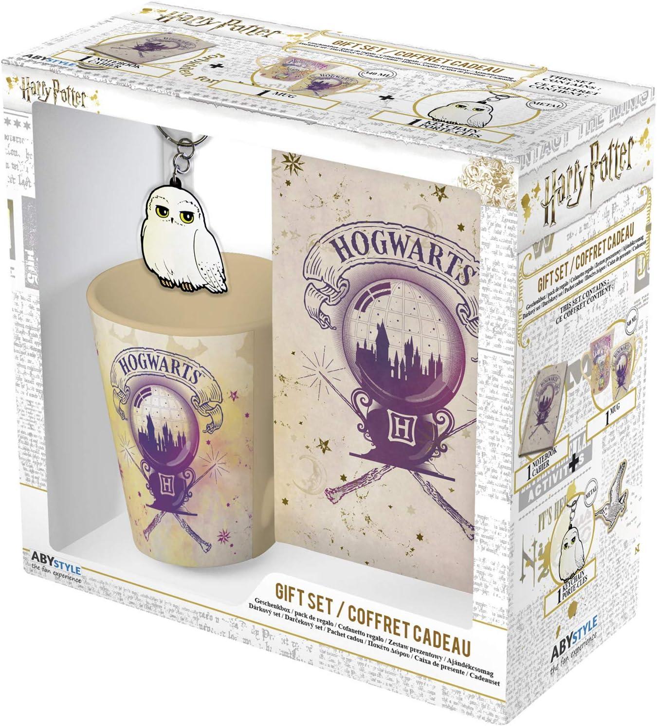 ABYstyle - Harry Potter - Caja de Regalo Hogwarts - Taza 320 ml + ...