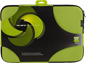 """Samsonite 18.4"""" Classic Laptop Sleeve Protection Bag Available in 5 Colours (Green & Black)"""