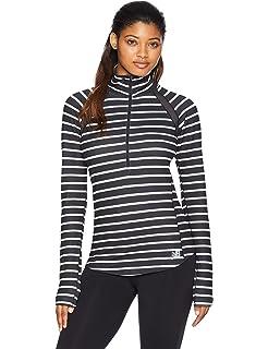 86a0762bed3fa Amazon.com: New Balance Womens Nb Heat Loft Funnel Sweater: Clothing
