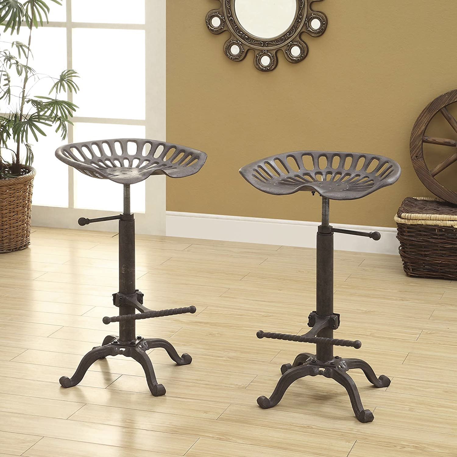 Amazon.com Carolina Chair and Table Adjustable Colton Tractor Seat Stool Kitchen \u0026 Dining & Amazon.com: Carolina Chair and Table Adjustable Colton Tractor ... islam-shia.org