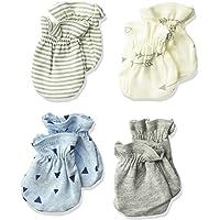 Gerber baby-boys Baby Boys 4-pack Mittens