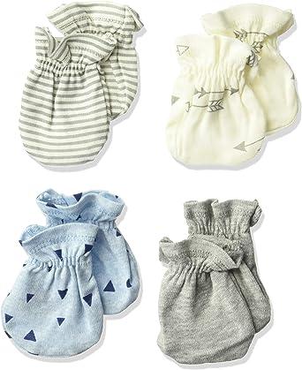 Gerber baby-boys 4-pair Mittens baby-bibs